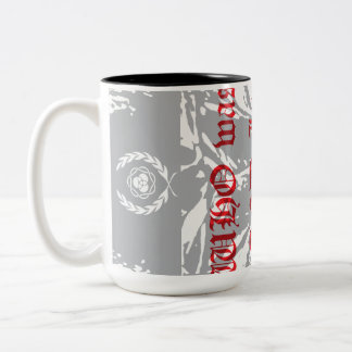 WHO WAS AND IS TO COME Two-Tone COFFEE MUG