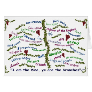 Who We Are in Christ Greeting Card