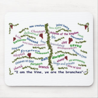 Who We Are in Christ Mouse Mats