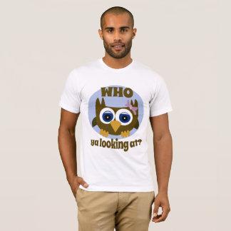 Who Ya Looking At Cute Own Men's T-Shirt