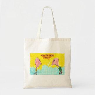 Who You Callin Nosey Canvas Bag