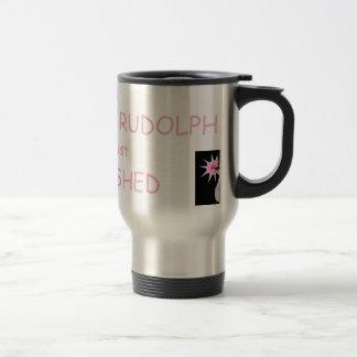 Whoa...I think Rudolph Flashed Me! Mugs