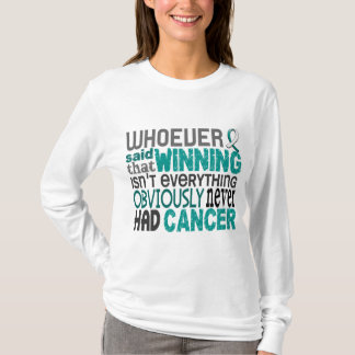 Whoever Said Cervical Cancer T-Shirt