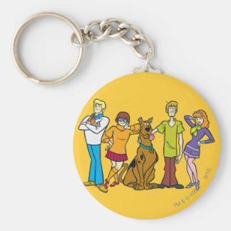 Whole Gang 14 Mystery Inc Key Ring