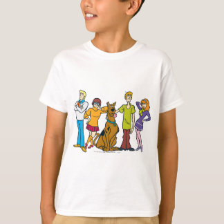 Whole Gang 14 Mystery Inc Tee Shirts