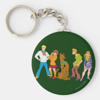 Whole Gang 15 Mystery Inc Key Ring