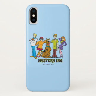 Whole Gang Mystery iPhone X Case
