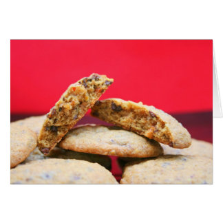 Whole Grain Cookies with Pulverized Tidbits Card
