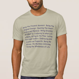 Whole Human Tees - Being the Present Moment