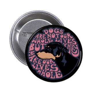 Whole Lives -color Pinback Button