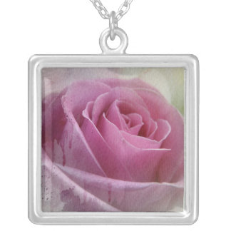Whole Lotta Rosie Silver Plated Necklace