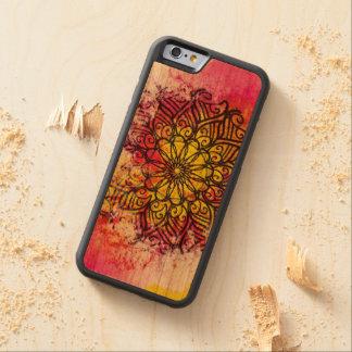 Wholeness Mandala Cherry iPhone 6 Bumper Case