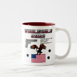 WholeSale Guns Two-Tone Mug