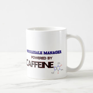 Wholesale Manager Powered by caffeine Coffee Mug