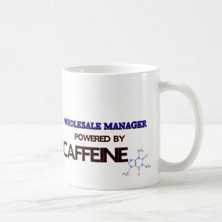 Wholesale Manager Powered by caffeine Coffee Mug
