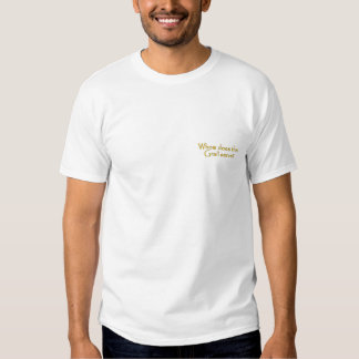 Whom Does the Grail Serve Grail Seekers Shirt