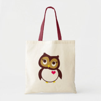 Whoo Loves You Budget Tote Bag
