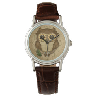 Whoolio The Cute Brown Owl Watch