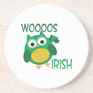 Whooos Irish Drink Coaster