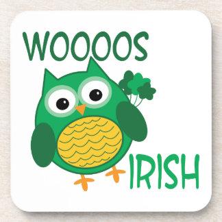 Whooos Irish Coasters