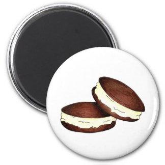 Whoopie PieChocolate Vanilla PA Dutch Food Magnet