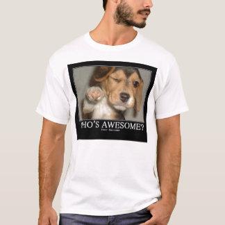 whos awsome? T-Shirt