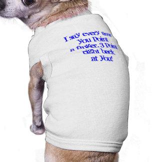 Who's Bad???  Doggie Tank Sleeveless Dog Shirt
