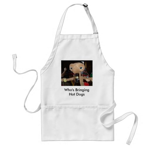 Who's Bringing Hot Dogs Apron