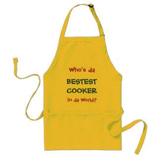 Who's da BESTEST COOKER in da World? Apron