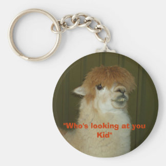 """Who's looking at you Kid"" Key Ring"