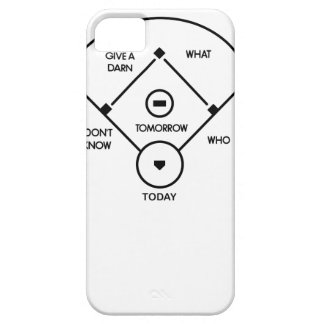 who's on first What's on second I don't know is... iPhone 5 Case
