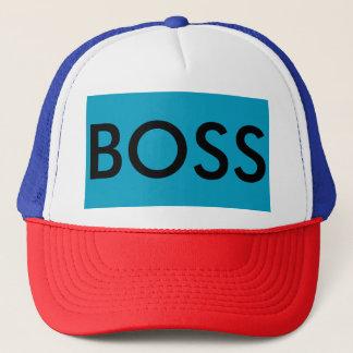 Who's the BOSS Trucker Hat