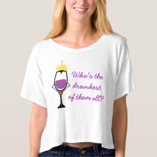 Who's the Drunkest of them all? (lite) T-Shirt