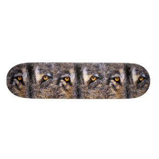 Who's Watching Wolf Eyes, 21.6 Cm Skateboard Deck
