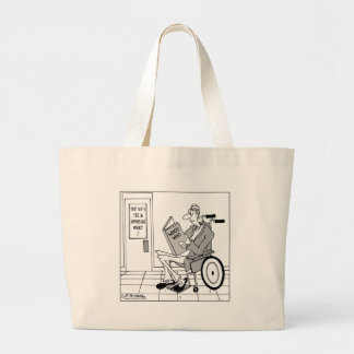 Who's Who in the Amnesia Ward Large Tote Bag