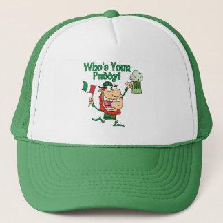 Who's Your Paddy Irishman Trucker Hat