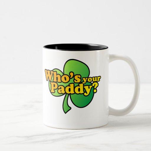 Whos Your Paddy Mug $17.95