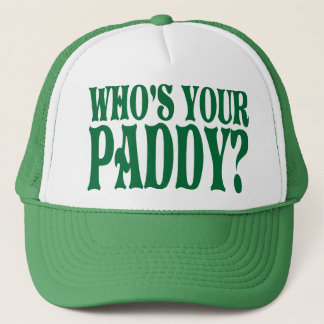 Who's Your Paddy Trucker Hat