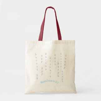 Whose Name Is It? $13 Tote with unisex names,