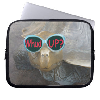 Whud up? Turtle Neoprene Laptop Sleeve