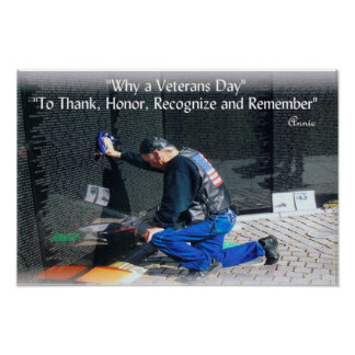 Why a Veterans Day. Poster