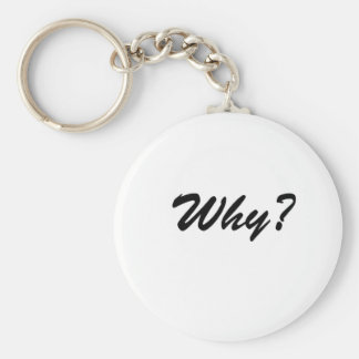 Why Basic Round Button Key Ring