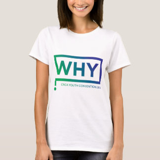 WHY Blue/Green Perth Convention 2016 T-Shirt