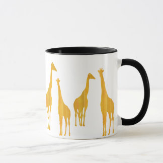 Why do giraffes have long necks? cup