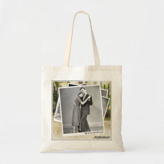 """""""Why don't we start the music?"""" Budget Tote Bag"""
