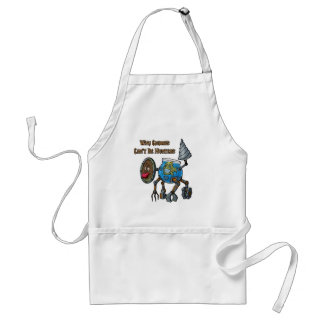 Why Gnomes Can't Be Hunters Standard Apron