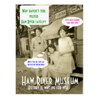 Why Haven't You Visited Postcard