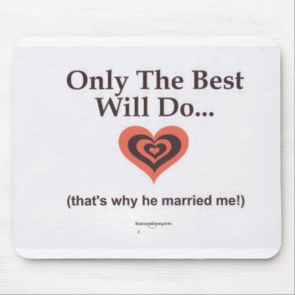 Why He Married Me Mouse Pad