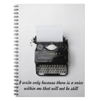Why I Write Notebook