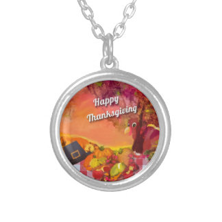 Why is the turkey hiding silver plated necklace